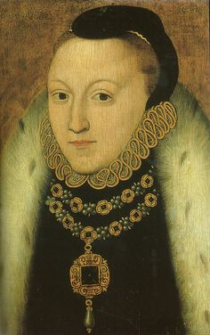 Queen Elizabeth I, c.1560, oil on panel, artist unknown.  National Portrait Gallery, London.