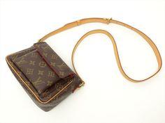 Louis Vuitton Authentic Monogram Viva cite PM Cross body Shoulder Bag Auth LV #LouisVuitton #ShoulderBag