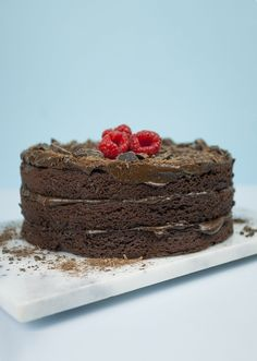 The Ultimate Chocolate Avocado Cake