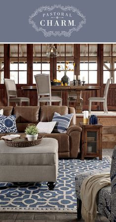 Pastoral Charm™ - New Living Room, Dining Room, Bedroom Furniture - Casual and Fresh Style - Ashley Furniture