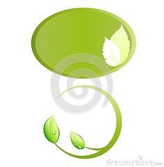 Green frame logo, wellness, eco, bio symbol vector, isolated on white background. Go Green, Ecology, Wellness, Symbols, Concept, Logos, Frame, Illustration, Design