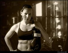 Tough Girl by Max Johnson, via Flickr