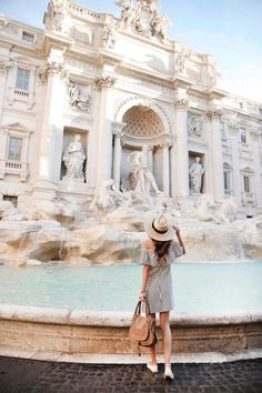 Trevi Fountain, Rome, Italy. I cried when I finally stood in front of it.
