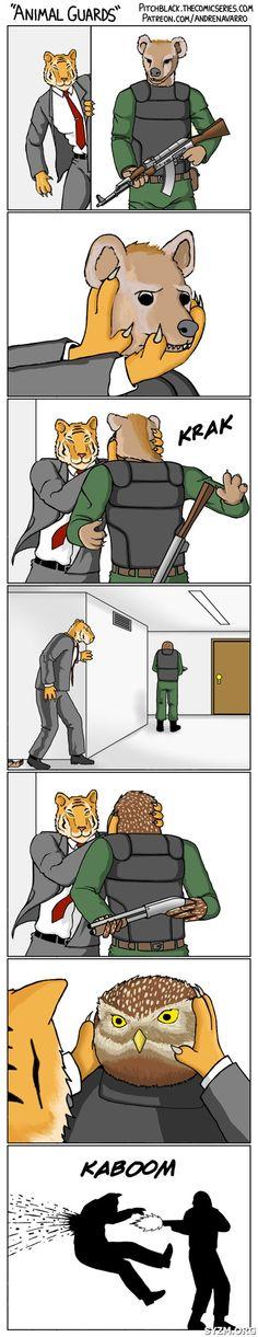 #Funny #comic owl head