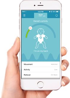 MonBaby is the baby monitor in a form of a button and the mobile app with smart alerts. It tracks your baby's breathing rate, movement level and sleep position.