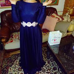 #lovely #blue #lace #dress Haljina prodata! Uskoro na stranici #nova #kolekcija UNIKATNIH dugih haljina kombinezona i suknji.  ( Link stranice u komentaru ispod )