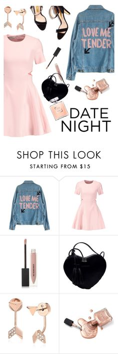 """""""Date night"""" by maria-maldonado ❤ liked on Polyvore featuring Elizabeth and James, Burberry, FOSSIL and DateNight"""
