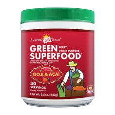 Amazing Grass goji, acai superfood