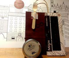 7,60€ TABLETA DE CHOCOLATE NEGRO + MERMELADA DE #SYRAH  Un postre inesperado... #regalosoriginales #regalospersonalizados #comida