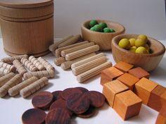 Wooden Pasta Dinner Set #montessorian_toy
