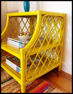 apprentice extrovert: Canary Yellow Cane