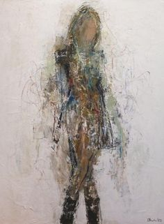 Still Deciding by Holly Irwin Oil Painting Abstract, Figure Painting, Figure Drawing, Acrylic Painting Inspiration, Dragonfly Art, Unique Paintings, Painting People, Portraits, People Art