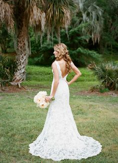 lace gown   Alice Keeney #wedding