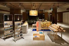 nakagawa masashichi shoten-gai retail installation by yusuke seki