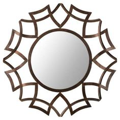 Buy the Safavieh Copper Bronze Direct. Shop for the Safavieh Copper Bronze Diameter Circular Mirror from the Inca Sunburst Collection and save. Wall Mirrors Entryway, Big Wall Mirrors, Rustic Wall Mirrors, Contemporary Wall Mirrors, Round Wall Mirror, Mirror Mirror, Mirror Ideas, Mirror Collage, Mirror Bedroom