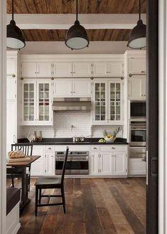 50 elegant farmhouse kitchen decor ideas (26)