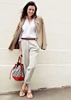 garance dore - The camel, white and beige blend