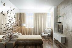 diseño de dormitorio estilo moderno