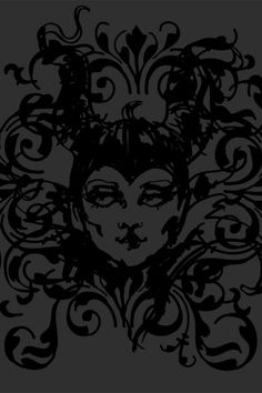 Wallpaper: Maleficent by Barbara for Graham & Brown