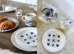 Homevialaura | Collaboration with Arabia Piilopaikka Pakkanen designed by Piia Keto