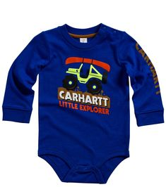 f44d87944cb Carhartt Baby Boys Little Explorer Bodyshirt Royal 6 Months -- Be sure to  check out