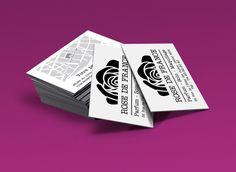 La parfumerie Rose de France de Nice appartient au Groupe Bogart.Création d'une identité visuelle N&B pour cette parfumerie : Logo & carte de visite. Playing Cards, Logo, Nice, Design, Corporate Design, Perfume Store, Carte De Visite, Group, Makeup