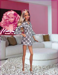 Mod Steffie. In this photo: City Shopper Barbie® Doll