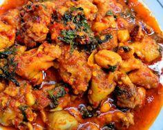 Resep dan bahan-bahan yang dibutuhkan untuk membuat ayam rica rica Chicken Nugget Recipes, Pork Recipes, Asian Recipes, Cooking Recipes, Drink Recipes, Chicken Menu, Chicken Spices, Chicken Noodles, Chicken Seasoning