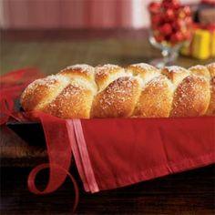 Sugar-Frosted Cardamom Braid | MyRecipes.com