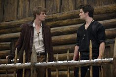 Double whammy.... Max Irons and Shiloh Fernandez.  Damn you, Red Riding Hood.