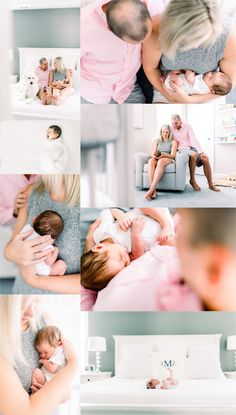 Sweet baby Mazie's newborn session in North Raleigh at her home with her parents and big fur brother, Buckley was all things perfect and beautiful! Newborn Sibling, Newborn Nursery, Newborn Shoot, Newborn Outfits, Lifestyle Newborn Photography, Toddler Photography, Sibling Photography, Newborn Pictures, Newborn Pics