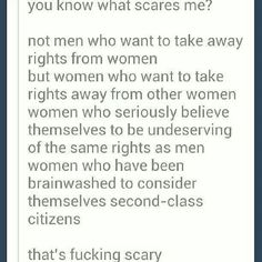 What are the pros and cons of women's rights ?