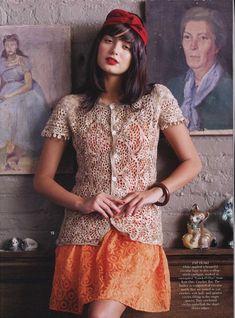 Crinochet: Vogue Knitting ( Crochet ) 2013 with pattern