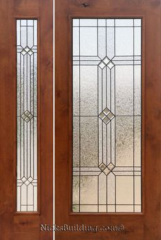 front door with sidelights | Rustic Doors with 1 Sidelight - Knotty Alder Rustic Exterior Doors