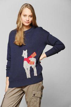 BDG Fuzzy Friend Sweater. Animal SweaterWarm SweatersHippie OutfitsSweater  WeatherPretty ... 6738bd18a