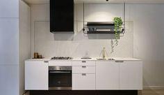 Stoere keuken met hout en betonlook blad keukens doetinchem