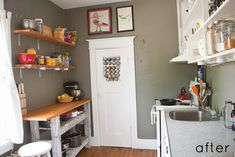 before & after: apartment transformation | Design*Sponge: I love this set up and this website has so many ideas.