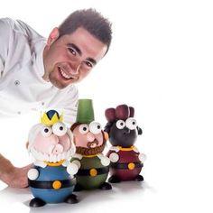 Navidad - Trabajos de Raúl Bernal – Maestro pastelero y chocolatero Santapau 2011