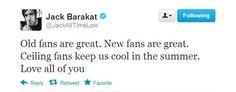 Jack Barakat, All Time Low