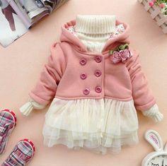 newborn girl winter clothes