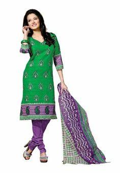 Fabdeal Indian Designer Pure Cotton Green & Violet Printed Salwar Fabdeal, http://www.amazon.de/dp/B00IRBAFNQ/ref=cm_sw_r_pi_dp_Zv8otb1GMMSNT