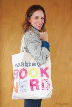 DIY Hashtag Book Ner