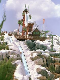 "Blizzard Beach - ""Winter"" fun in Florida at this fun themed Disney water park."