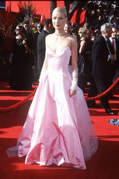 What: Ralph Lauren Where: Academy Awards in 1999 Why: Paltrow cemented her status as a style icon with this referential pretty-in-pink moment. Getty Images  - HarpersBAZAAR.com