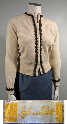 1950s Vintage Hot Pink Cashmere Cardigan Sweater | Vintage Fashion ...