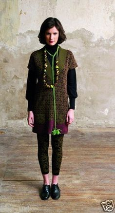 Catherine Andre Missoni Designer Leggins Tights Cotton Retail $175 RARE | eBay
