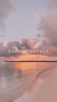 Hakuna Matata Aesthetic Wallpaper