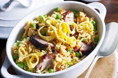 Barbecued pork fried rice