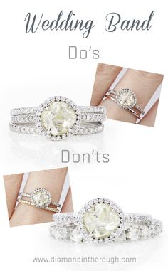 Wedding Band Do 39 S And Don 39 Ts Showing You How To Wear Your Wedding