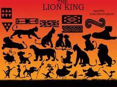 silhouette lion king - Cerca con Google